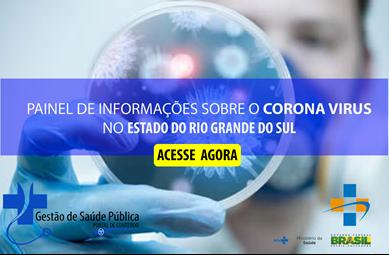 CORONA VIRUS |  Conheça os dados no Rio Grande do Sul – RS.