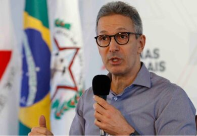 Governador Romeu Zema inaugura 10 novos leitos de UTI em hospital de Poço Fundo, MG